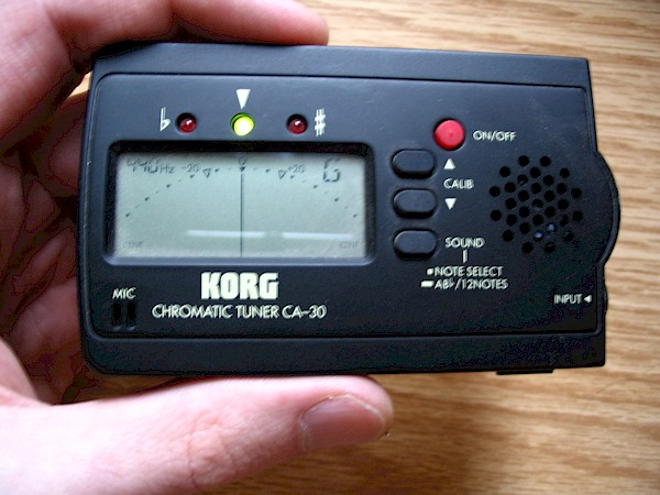 Korg CA-30 Digital Chromatic Tuner