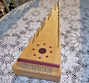 Bill Allman bowed psaltery