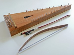 Dick Willitts bowed psaltery