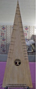 Gordon Brown bowed psaltery