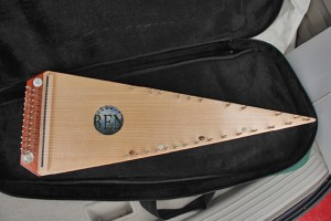 Gregory Trickey bowed psaltery