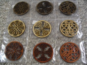 A variety of woods and patterns are available, all laser cut with pinpoint accuracy.