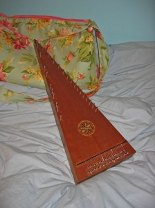 Lynn Smallwood bowed psaltery