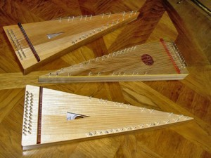 Paul Cole bowed psaltery