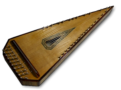 A modern-day bowed psaltery, more or less
