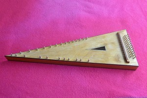 Richard Arnold bowed psaltery