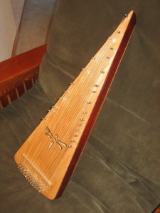 Robert Killen bowed psaltery