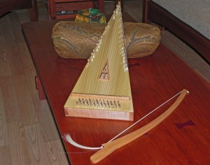 Robert Wright bowed psaltery
