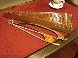 Bill Yoder bowed psaltery